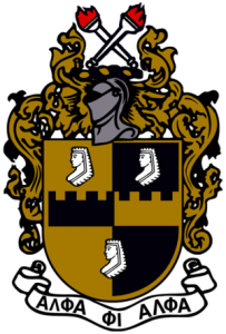 Alpha Phi Alpha Coat of Arms