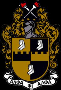 Alpha Phi Alpha Coat of Arms